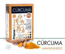 CURCUMA + MANGANESO 30 capsulas Prisma Natural antiinflamatorio 1 capsula al dia