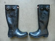 Hunter Women's Original Tall Gloss Boot - Size 5