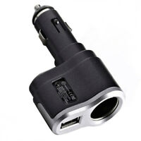H16 KFZ Auto Ladegerät Verlängerung USB Stecker / 12-24V / 1A für mp3 Handy Navi
