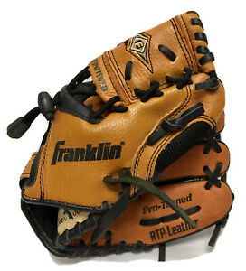 """Franklin 4624-53 9 1/2"""" Pro Tanned RTP Leather Ball Glove RHT Right Hat Thrower"""