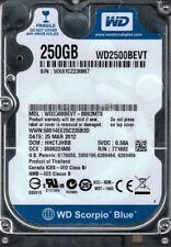 WD2500BEVT-00S2MT0 DCM: HHCTJHBB WX61C Western Digital 250GB