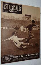 MIROIR SPRINT N°91 1948 FOOTBALL STADE RENNES LOSC RUGBY CA BEGLES PELISSIER