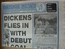 Aug-1989 Chelsea Official Newspaper: Bridge News No.064 - Dickens Flies In with