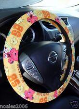 Handmade Steering Wheel Covers Spongebob and Patrick Party Yellow