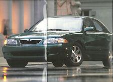 1998 MAZDA 626 Sedan Brochure / Pamphlet with Color chart: DX,LX,ES,V6, V-6,