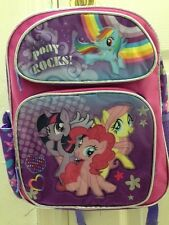 "My Little Pony Rocks! 12"" inches Small Backpack - Licensed Product"