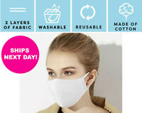 Face Mask Adult Washable Reusable Breathable Made in USA Fabric Mask Facemask