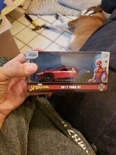 2017 Ford Gt Spider-Man Theme Marvel Series 1/32 Diecast Model Car by Jada