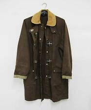 GIUBBETTO UOMO FAY donna COAT BROWN TRENCH JACKET MEN VINTAGE gruppo Tod's L