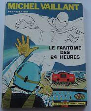 MICHEL VAILLANT LE FANTOME DES 24 HEURES N°17 EO 1970  ETAT CORRECT GRATON