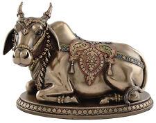 "6"" Nandi - Hindu Cow God Sculpture Statue Figure Hinduism Decor Bull Figurine"