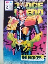 Judge Dredd (Quality) Vol 2 #42 - Comic – used Excellent condition