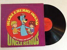 HUCKLEBERRY HOUND stories and songs of Uncle Remus vinyl LP M-