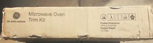 """GE 30""""  NEW Microwave Oven Trim Kit Stainless Steel ZX2130SLSS"""