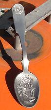 1976 Pewter Franklin Mint America 13 Original First Colonies Spoon Georgia