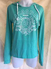 Women's Rivers Light Long Sleeve Hoodie Top Sweater Green Size 8
