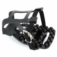 Fitness Exercise Indoor Bike Toe Clips Cage Compatible with Look Delta Pedals