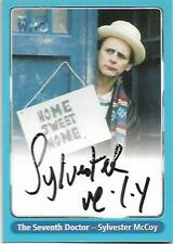 Doctor Who - Series One Autograph Card A4 Sylvester McCoy - 7th Doctor  2000