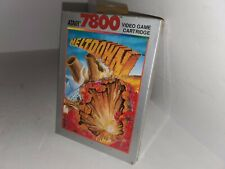 NEW W/CREASED  BOX MELTDOWN GAME FOR ATARI 7800 PAL VERSION (NOT FOR USA) G23