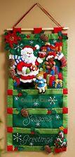 Bucilla Santa's Greeting Card Holder ~ Christmas Felt Wall Hanging Kit #86265