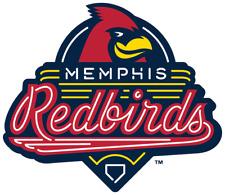 Memphis Redbirds (AAA Cardinals) MiLB Die-Cut Decal / Sticker *Free Shipping