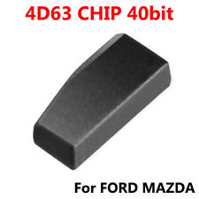 Key Chip,4D63 40 Bit Car Smart Key Chip Transponder Chip Replacement Accessory Fit for Ford