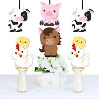 Farm Animals - Decorations DIY Baby Shower or Birthday Party Essentials - 20 Ct