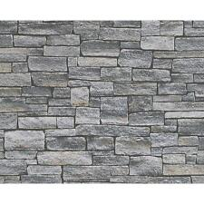NEW AS CREATION STONE BRICK WALL PATTERN FAUX EFFECT EMBOSSED VINYL WALLPAPER