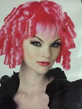Gothic Doll Wig Pink with Curls New by California Costumes 60833