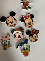 Vintage Walt Disney Mickey Mouse & Minnie donald duck  Daisy duck (6 pins) B