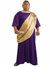 Caesar Roman Emperor Adult Mens Halloween Costume Plus Size 46 52