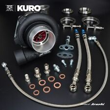 "KURO 3"" GTX2867R GT2867R Billet Ball Bearing Turbo Anti-surge A/R .72 V-Band"