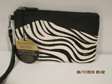 Mighty Purse Leather Purse Power Charger for iPhone Android Power Bank Zebra NEW