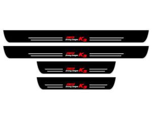 Interior LED Moving Light Door Scuff Step Plate (Fits: KIA 2019+ Forte Sedan K3)
