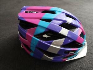 Fahrradhelm Uvex KIDS AIR WING, Größe S. blue-pink, TOP-Zustand