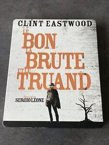 LE BON LA BRUTE ET LE TRUAND BLURAY + DVD STEELBOOK SERGIO LEONE CLINT EASTWOOD