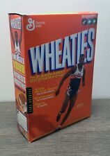 Vintage Wheaties Cereal w/ Carl Lewis 18 oz Full Box Factory Sealed