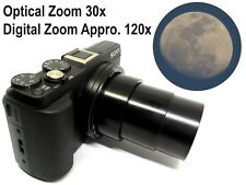 SONY DSC-HX60V 20.4MP FULL HD Digital Camera 30x optical zoom Pre-own