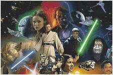 Star Wars 14 count Cross Stitch Kit