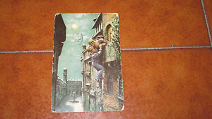 Card Giulietta And Romeo Photo Chrome Sculpture Tan IN Colours Fp VG IN The 1922