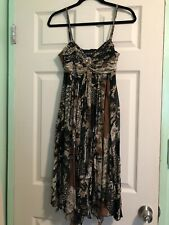 Hong Ni Collection Womens Dress With Matching Scarf Size 6