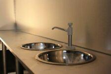 More details for stainless steel round sink 28cm van camper