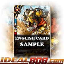 Buddyfight x 4 Thwackdrill [X-BT03/0080 C (Regular)] English Mint Future Card