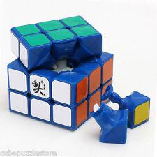DaYan 3X3X3 Magic Cube Speed Twist Puzzle Blue Brain Teaser Fancy Toys 2.24''