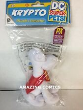 """SDCC 2015 Exclusive DC Comics Superman Krypto 6"""" Plush Toy Limited to 3,000"""