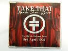 Take That - Back For Good Rare PROMO Cd Single Gary Barlow TAKE21