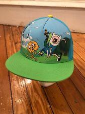 Adventure Time Cap Hat, Cartoon Network, Snapback, Snap Back Baseball Cap