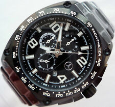 Mercedes Benz Motorsport AMG Racing Pilot Aviator Design Sport Chronograph Watch