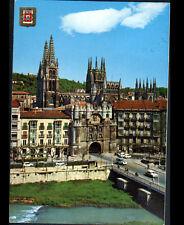 "BURGOS (ESPAGNE) RENAULT 4L & FIAT à la PORTE ""SANTA MARIA"" en 1981"