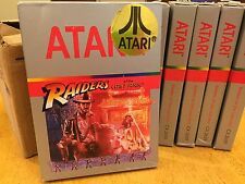 RAIDERS OF THE LOST ARK - for ATARI 2600 FRESH CASE - NOS - NEW - INDIANA JONES